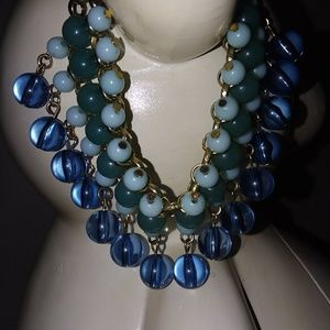 Jewelry - Coldwater Creek Bubbling Beads Bracelet -Blue/Teal